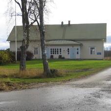 Gammalt hus i östra Finland