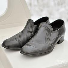 Svarta läderskor