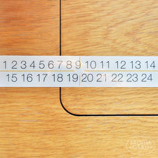 Kalendersiffror 1–24