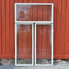 Gamla fönster – nr 12 – ytterbågar (3x3 st)