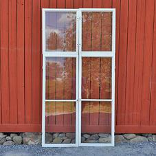 Vanhat ikkunat – nro 17 – sisäpokat (4x2 kpl)