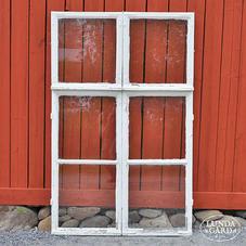 Gamla fönster – nr 14 – ytterbågar (4x3 st)