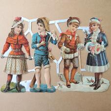 Glansbilder - barn 1