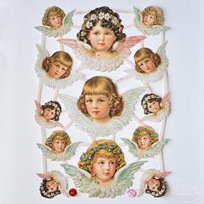 Kiiltokuvat - enkelit 1