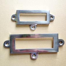 Etiketthållare aluminium