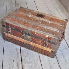 Gammal koffert