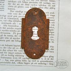 Nyckelskylt 1