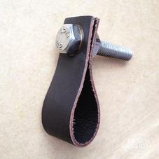Läderhandtag