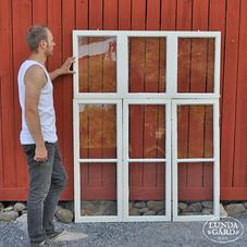 Gamla STORA fönster – nr 20 – innerbågar (4x1 st)